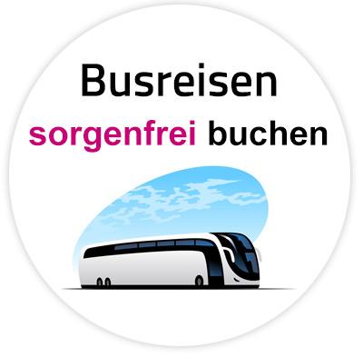 Busreisen sorgenfrei buchen mit Volksstimme Reisen