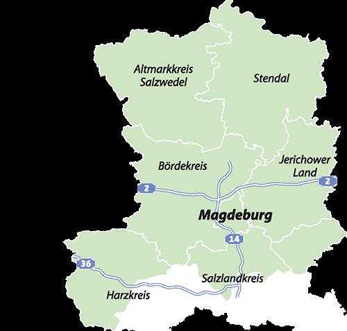 Karte Haustürtransfer