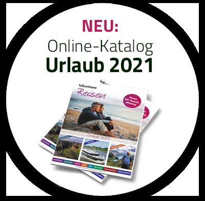 Online-Katalog Volksstimme Reisen 2021