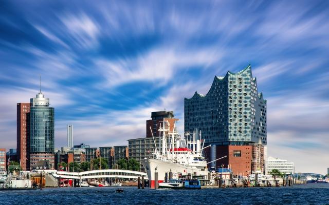 Elbphilharmonie am Hamburger Hafen, Deutschland